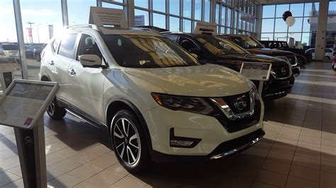 nissan rogue 2017 white 2017 nissan rogue sl pearl white beige interior sherwood