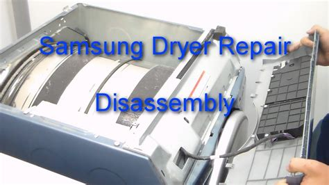 samsung dryer repair how to disassemble