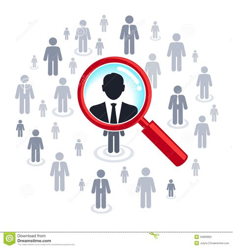 Find Peoples Pictures For Free Search Magnifying Glass Searching Royalty Free Stock Photo Image 34869855