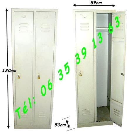 Armoire Metallique Industrielle Occasion by Armoire Vestiaire M 233 Tallique Industielle 2 Portes