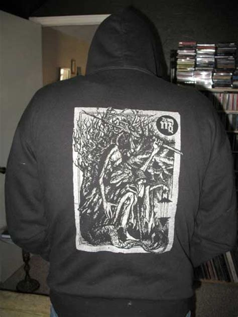 Hoodie Faust 34 nuclear war now productions view topic wanted urfaust einsiedler zip logo shirt