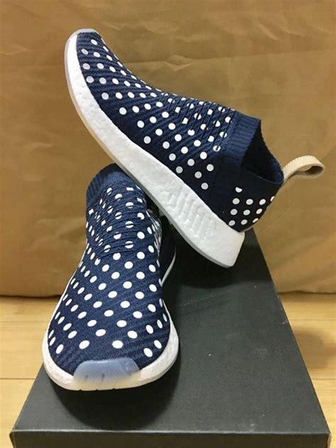 Premium Adidas Nmd Cs2 Polkadot Navy adidas nmd cs 2 city sock pk ronin polka dot navy wm6 5 8