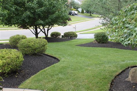 amazing black rock landscaping 8 black mulch landscaping