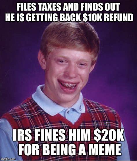 Bad Back Meme - bad luck brian meme imgflip