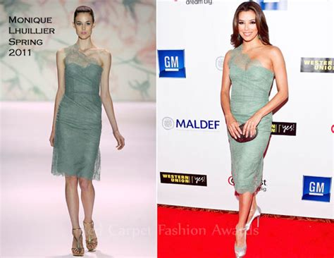Runway To Carpet Longoria In Lhuillier At El Cantante Premiere La by Longoria In Lhuillier 2011 Mexican American