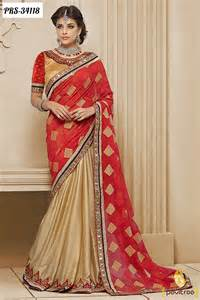 Top 10 modern style designer party wear sarees online indian