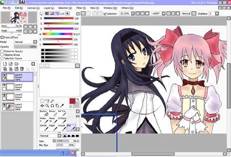 Download PaintTool SAI Full â?? Phần má» m vẽ Chibi