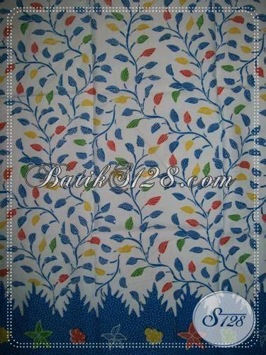 Batik Katun Motif Daun Pejabat kain batik murah untuk seragam instansi motif daun warna