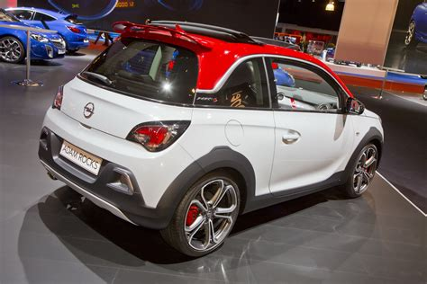 opel adam rocks opel adam rocks s debuts at the autorai show in amsterdam
