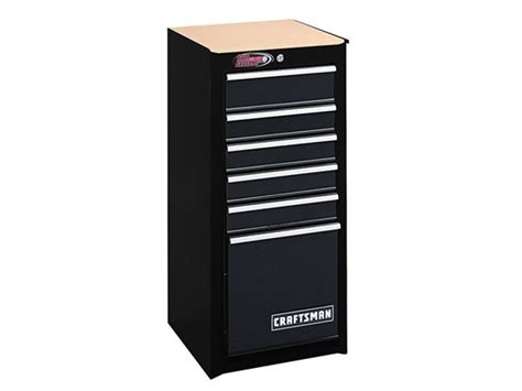 Craftsman Side Cabinet by 6 Drawer Bearing Cabinet Black Tools Garden