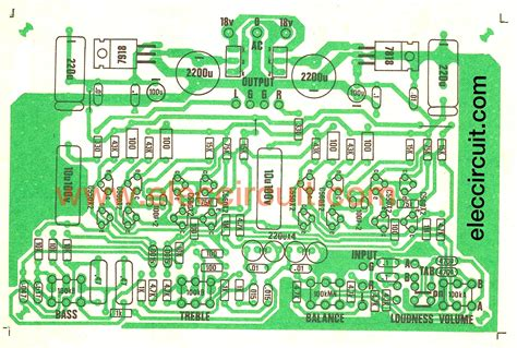 Diy Electronic Projects hi fi audio tone control circuit eleccircuit com