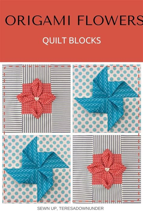 Origami Blocks - 17 best images about fabric origami on fabric