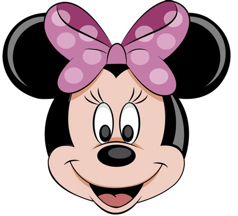 6 best images of minnie mouse face printable minnie