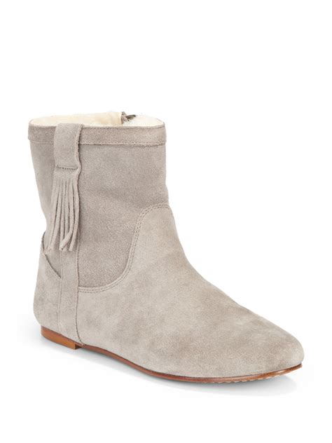 suede flat ankle boots boot ri