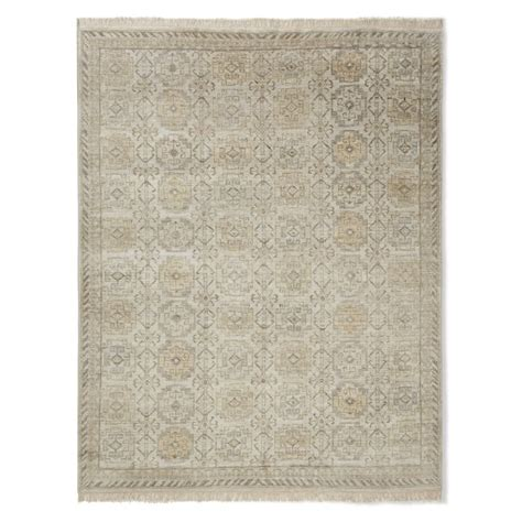 Williams Sonoma Rug by Khottan Knotted Rug Drizzle Williams Sonoma