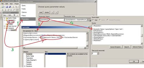 format date parameter in ssrs xml pass a parameter value to a dataset parameter in
