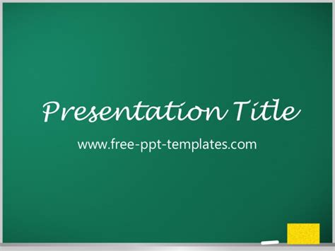 chalkboard powerpoint templates blackboard ppt template