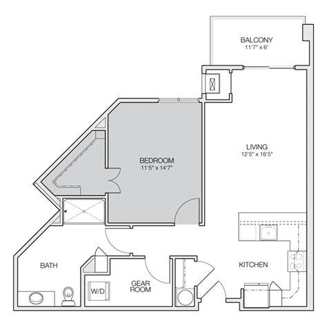 1 bedroom 1 5 bath apartment 1 bedroom 1 5 bath apartment floor plans floors doors