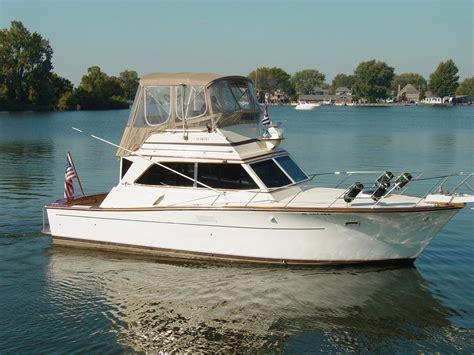 boat brokers harrison township mi 1977 egg harbor 36 sedan power boat for sale www