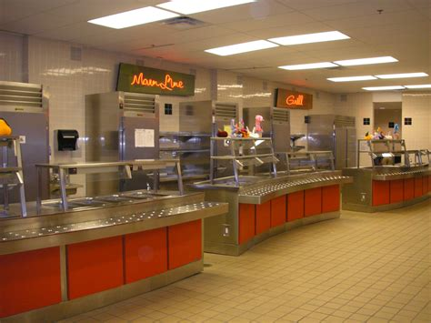 Cafeteria Kitchen Design | educational k12 university kitchens five oaks kitchen