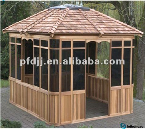 wooden gazebo kits cool portable outdoor wooden gazebo kits buy wooden