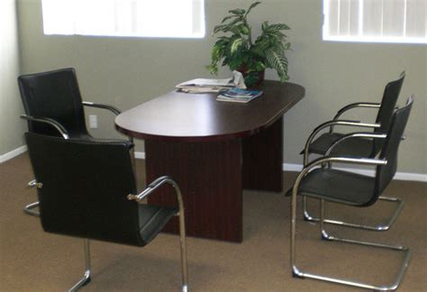 Conference Room Tables And Chairs by 6 12 Conference Table And Chairs Set Office Meeting