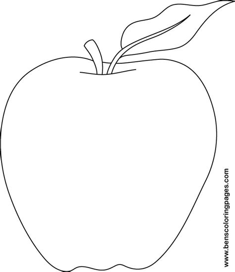 templates for pages apple apple coloring pages printable esbo 231 os pinterest