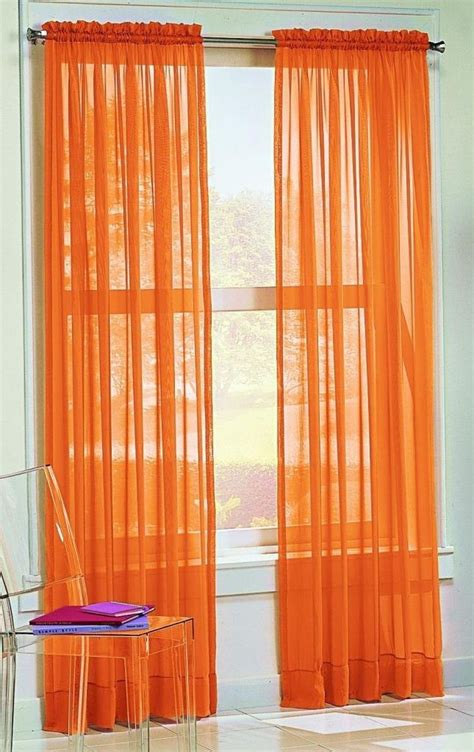 solid orange curtains 10 fun bright orange comforters and bedding sets