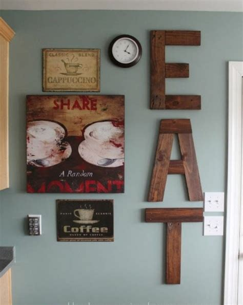 Kitchen Wall Decor Ideas Diy Diy Wall Art 9222 Write Teens Ideas For Kitchen Wall Decor