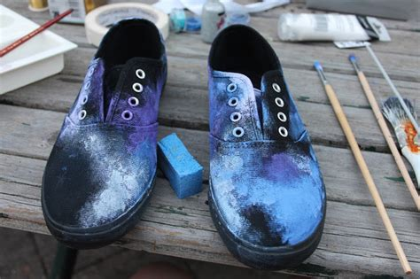 diy galaxy shoes tutorial the fashion lookout diy galaxy shoes