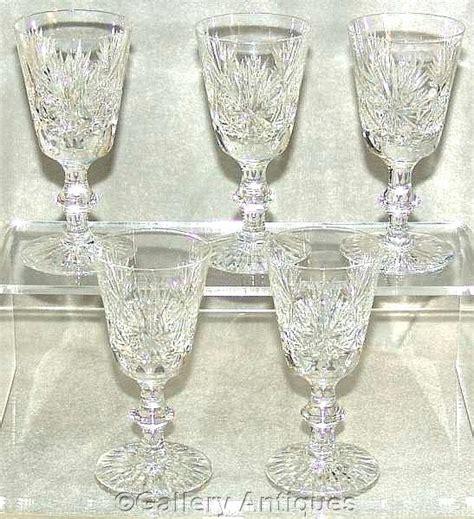 pattern cutter edinburgh five vintage edinburgh crystal star of from gallery antiques