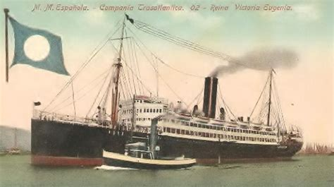 barco a vapor caracteristicas vapor reina victoria eugenia wikipedia la enciclopedia