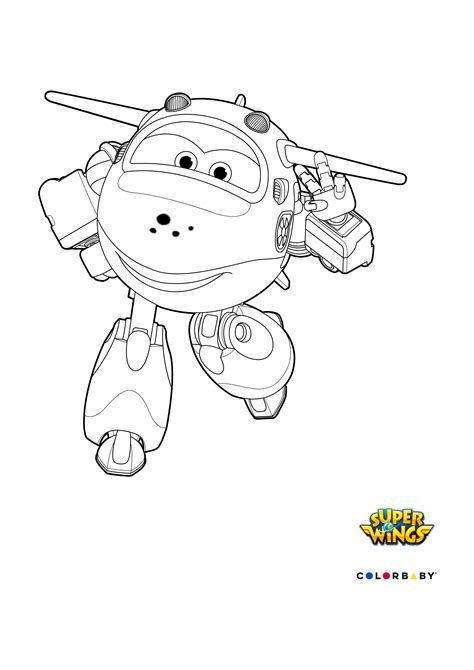 super jet coloring pages super wings jerome coloring pages sketch coloring page