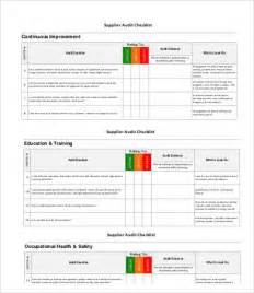 it audit template 12 audit checklist templates free sle exle