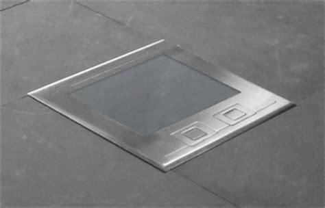 concrete floor boxes  slab  grade brass box covers