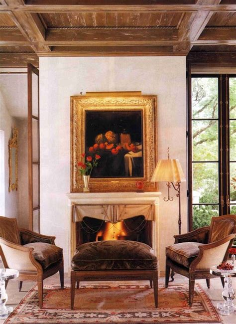 Sitting Rooms With Fireplaces by Sitting Room Fireplace Mediterranean Living