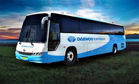 DAEWOO Express Bus Service -Preferable over local ...