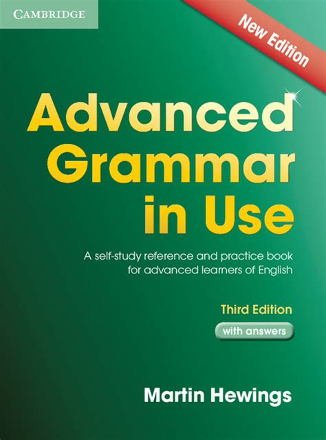 advanced grammar in use 1107697387 advanced grammar in use third edition book with answers by martin hewings on eltbooks 20 off