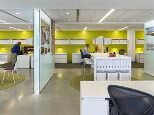 Modern Office Furniture Design by Ayers Saint Gross Leads By Example With New Open Office