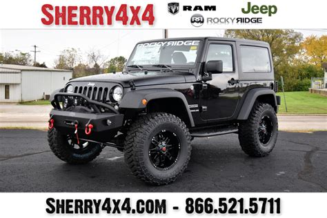 jeep truck 2018 lifted 2017 jeep wrangler sport rocky ridge trucks k2 28070t
