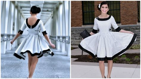How To Dress On A by How To Sew A 50ies Dress Vivienne Pattern