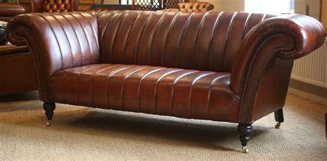 fluted leather chesterfield classic leather chesterfield