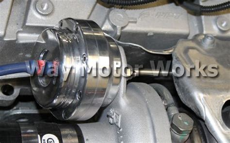 forge fiat abarth turbo actuator way motor works