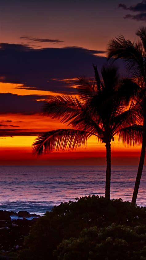 wallpaper for iphone 6 hawaii hawaii sunset iphone wallpaper