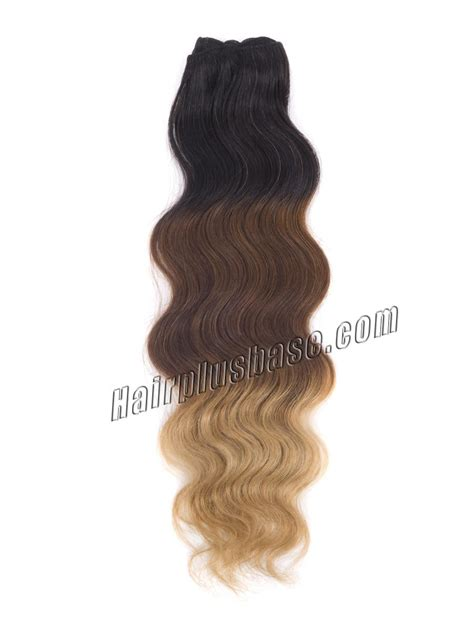 indian remy human hair clip in extensions 26 inch brown black ombre clip in indian remy human