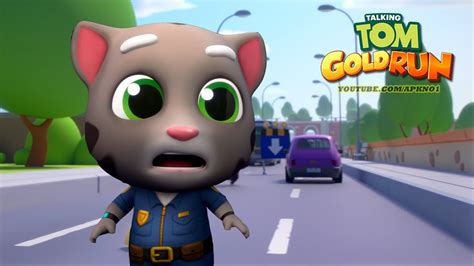 talking android talking tom gold run android gameplay hd talking tom ep 1