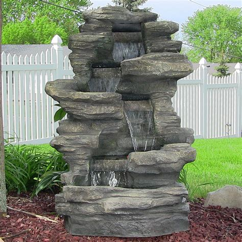 Outdoor Water Fountains   Backyard Garden Water Fountains