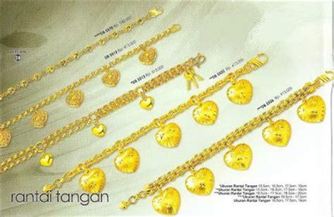 Gelang Kaku Lapis Emas 24k Permata Zircon 4 zhulian perhiasan berlapis emas koleksi perhiasan