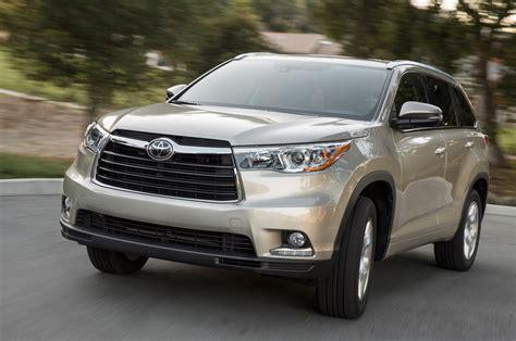 Toyota Highlander Limited Platinum 2014 Toyota Highlander Review Automobile Magazine