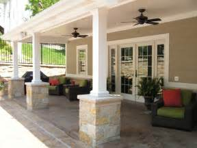 Garage Designs Of St Louis pool house veranda